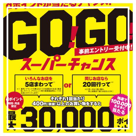 【dポイント/10万名に総額2億ポイント/GO!GO!スーパーチャンス】2月1日スタート