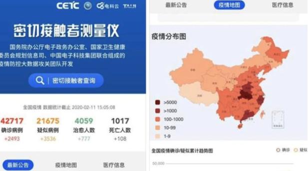 中国がモバイルアプリ「密着検出器」を公開!コロナウィルスの拡散を減らす目的