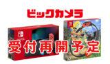 ビックカメラ.comで「Nintendo Switch」本体抽選販売再開予定