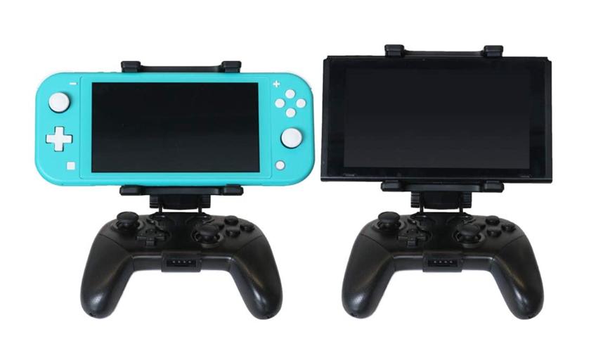 「(Nintendo Switch  Proコントローラー)用マウントホルダープロ」&「(Nintendo Switch Lite本体用)フラップカバープラス」が発売