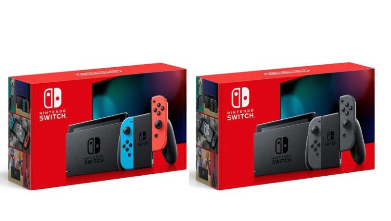 [7/8(水)~7/10(金) 13:59 ソフマップ・ドットコムで開始]Nintendo Switch Joy-Con(L) ネオンブルー/(R) ネオンレッド、Nintendo Switch Joy-Con(L)/(R) グレー スイッチ抽選