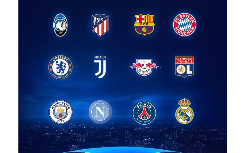 [2020.8/6~]UEFAチャンピオンズリーグ(CL)&UEFAヨーロッパリーグ(EL)の準々決勝、準決勝組み合わせ抽選会をDAZNで配信